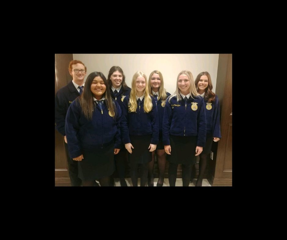 FFA Speakers at S.W. Area Speech