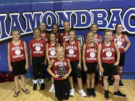 Congratulations to the NES Lady Indians on taking 5th place at the Olustee-Eldorado Elementary Basketball Tournament!