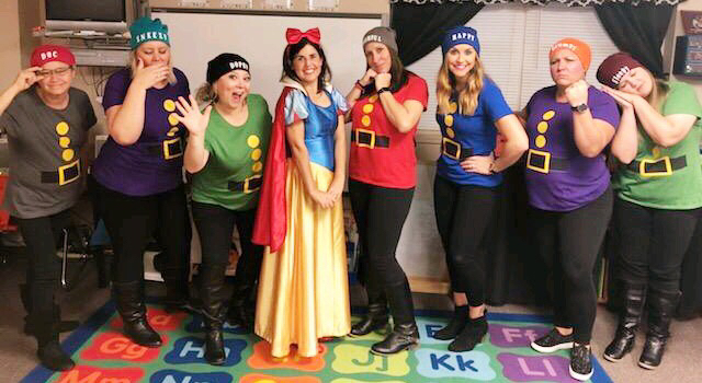 Snow White and seven dwarves