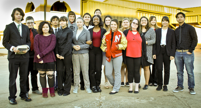 Navajo Speech and Debate Team at Bixby Tournament