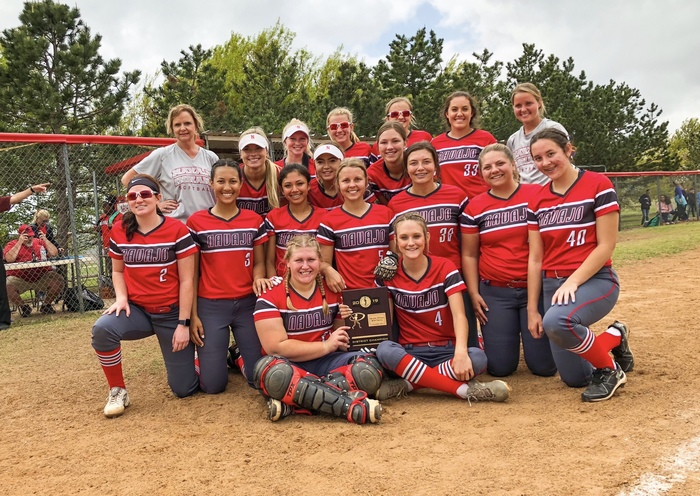 Softball District Champions