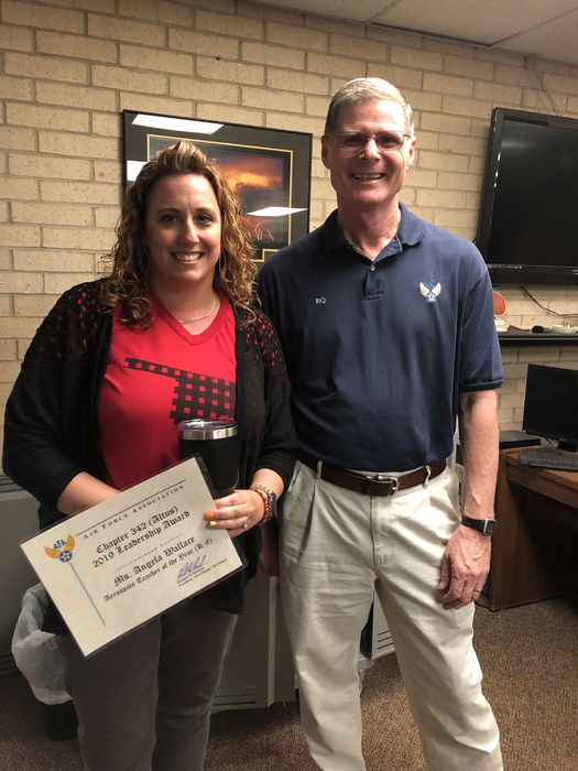 Angela Wallace STEM teacher awards
