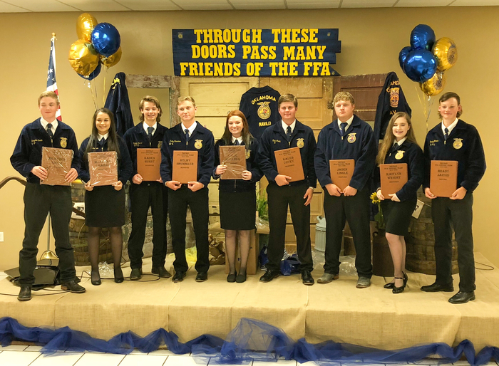 2019-2020 Navajo FFA officers