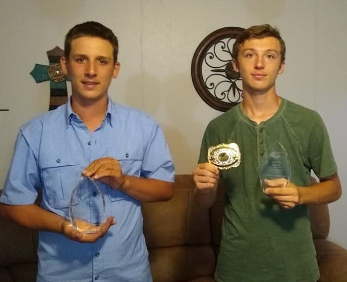 Congratulations to John and Jordan Harrold. John was Champion in the Single and Handicap Division while Jordan was Champion in the Singles at the Iowa Park Gun Club contest this past weekend.